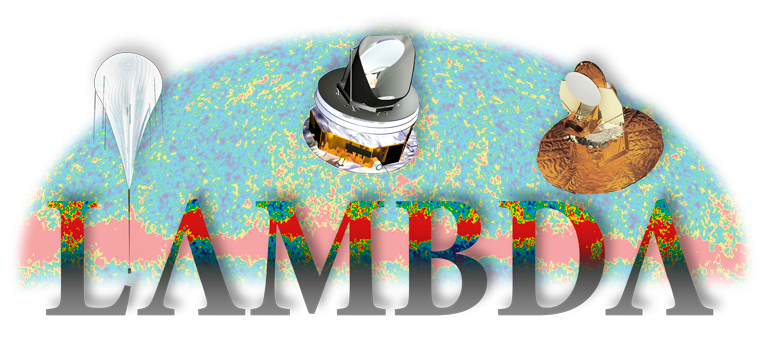Lambda Logo and Satellite Collage